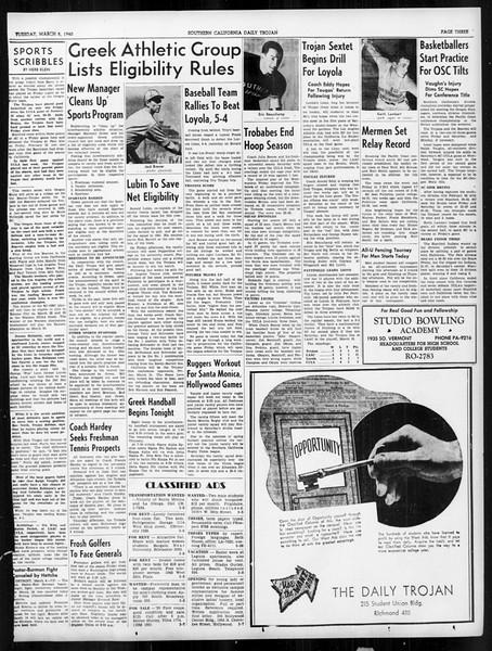 Daily Trojan, Vol. 31, No. 97, March 05, 1940