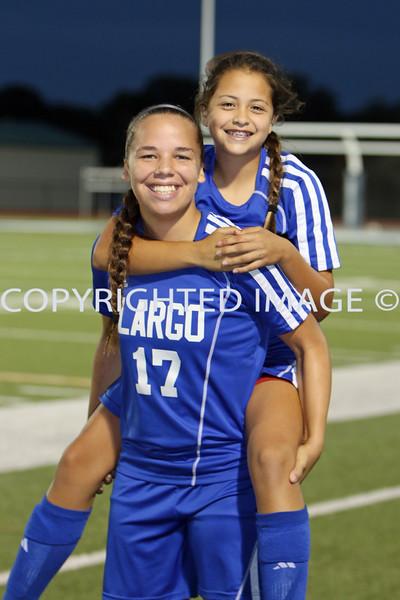 11/21/14 (Girls Soccer)  LARGO @ Calvary