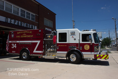 Millville City, (Cumberland County) New Engine 34