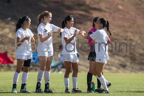 Oxy Women's Soccer vs Whittier 10-11-14