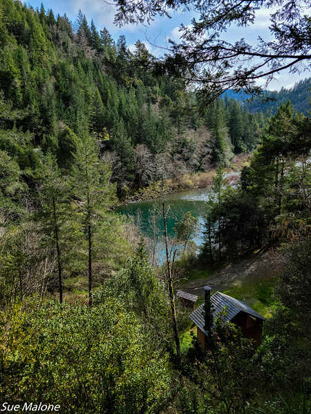 Near the confluence of the South Fork and Middle Fork of the Smith River