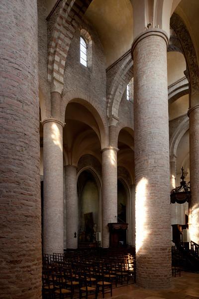 Tournus, Saint-Philibert Abbey Nave Elevation