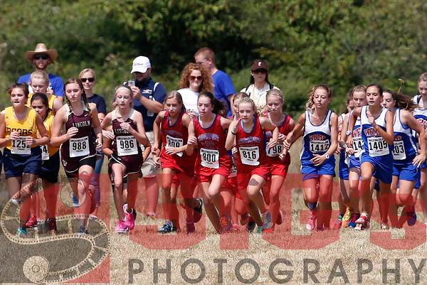 08-29-15 Middle School Girls - Charles Pointe Indian Run Invitational