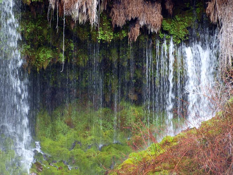 Burnie Falls at side