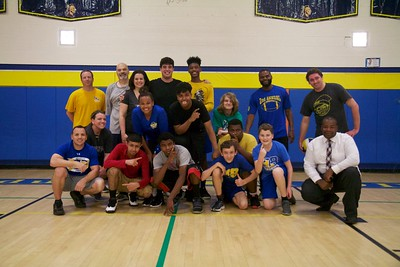2018 Students vs Staff Boys Volleyball