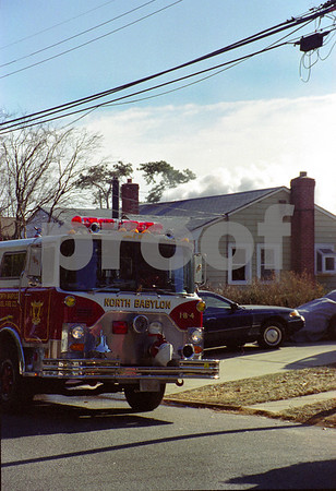 Nth Babylon Working House fire, Very Cold