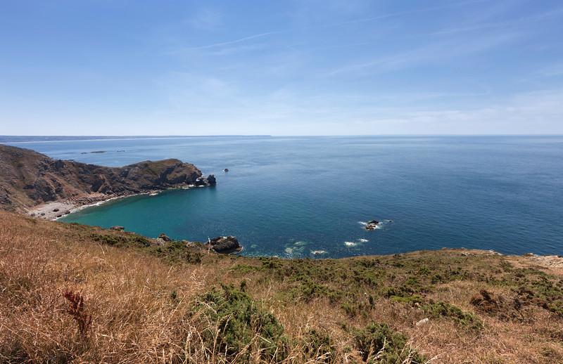 Nez de Jobourg - Coastline on peninsula Cotentin near Jobourg, Basse Normandy, France