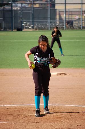 JV Softball vs. Hollywood 4.8.14