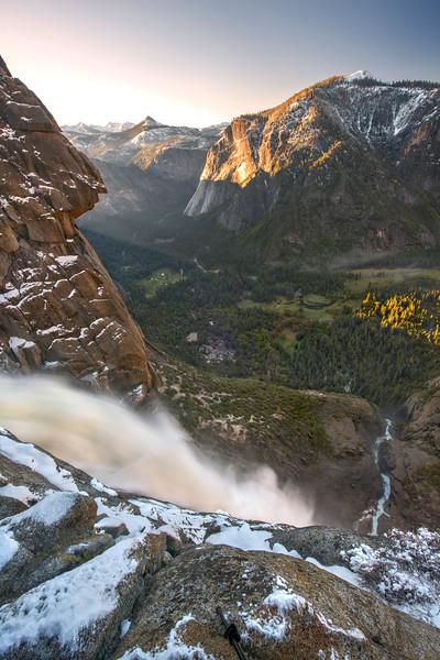 Yosemite Falls Sunrise