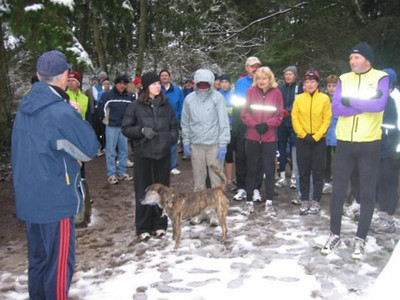 2005 New Year's Day Memorial Run - A dog