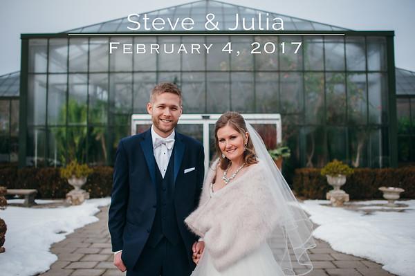 Julia & Steve
