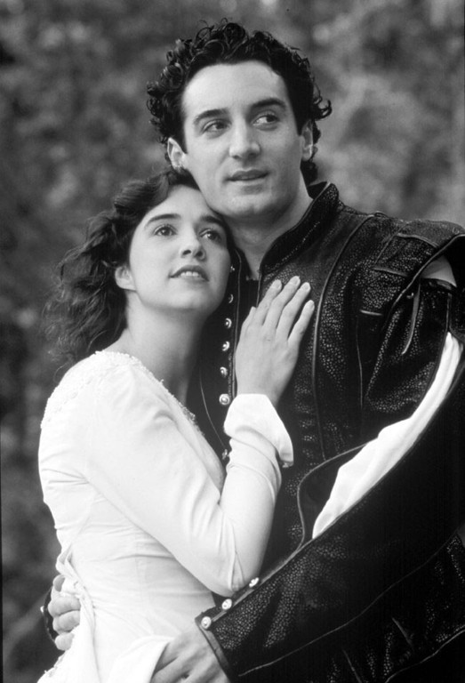 ". Holly Twyford and Dominic Comperatore perform in ""Romeo and Juliet\"" at Shakespeare Santa Cruz. (Sentinel file, undated)"