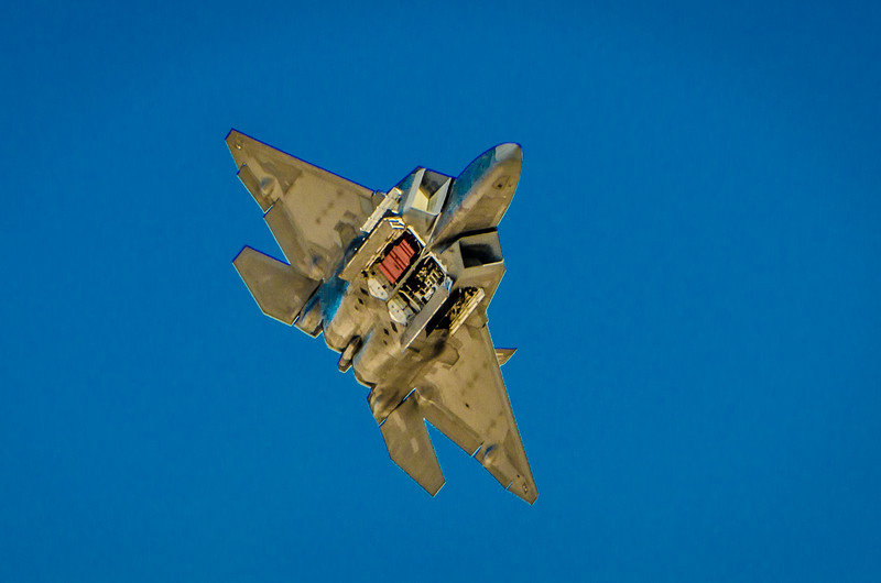 F-22 Raptor Bomb Bay Doors Open