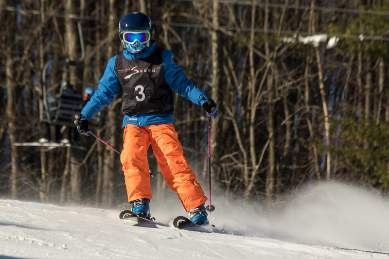 Sadie Snyder No. 3 (HVRC) Grenier Law Group GS Race U8-U19 - Wisp Resort