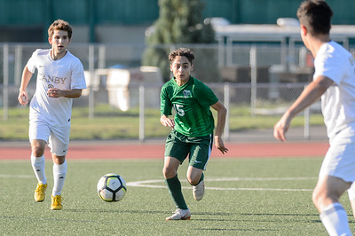 Tigard HS Boys JV Soccer vs Canby