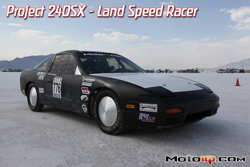 240sx, s13, land speed, salt flats, bonneville, chuck johnson