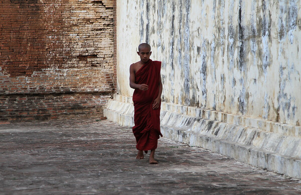 Myazedi Stupa, Bagan, Myanmar