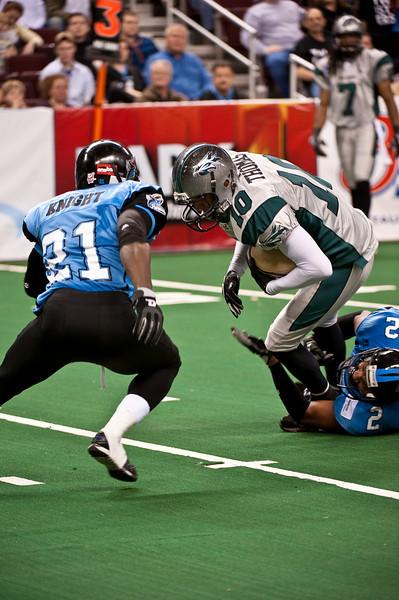 Sports-Football-Arkansas Twisters vs Bozier City 032809-15