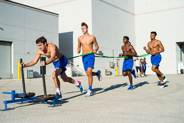 FGCU MBB Friday Conditioning