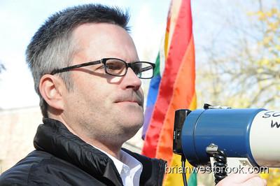 Same-Sex Marriage Protest / Portland, OR - 15 Nov 2008