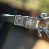 Antique 5-stone Setting, Platinum 0