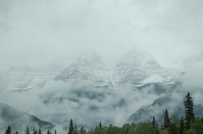 Mount Robson en Jasper NP