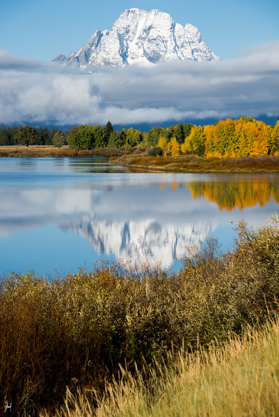 Oxbow Bend Grand Teton National Park, Utah