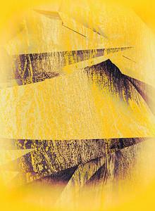 """Dripping yellow"" (digital) by Lillianne Daigle"