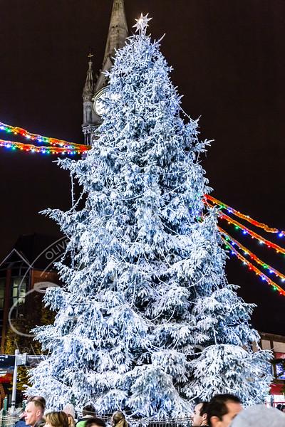 leicester christmas lights