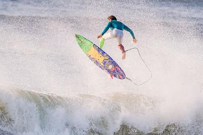 Kei Kobayashi Surfing Lido New York 9-22-20