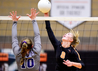Photos: Erie Vs. Discovery Canyon Volleyball 8/28/19