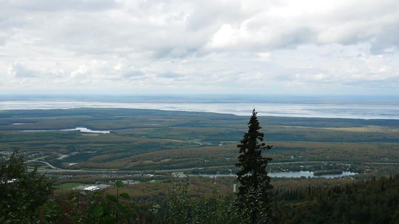 Baldy Mountain above Eagle River