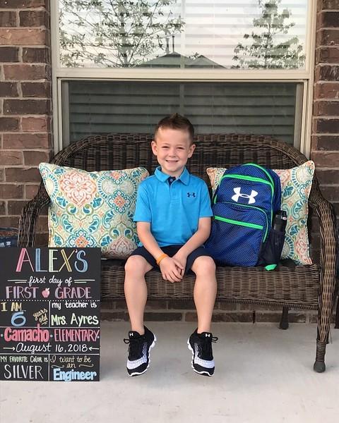 Alex | 1st | Camacho Elementary School