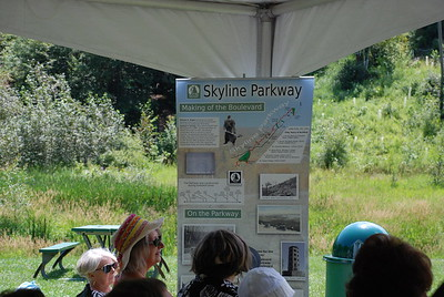2016 07 31: Duluth, Chester Park, celebration, Skyline Parkway 125 years