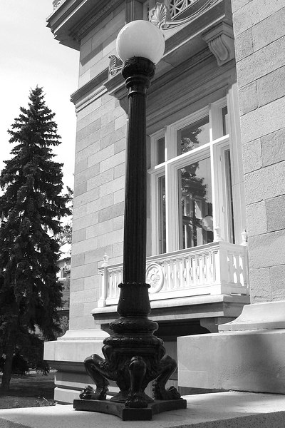 Light at Memorial Park Library