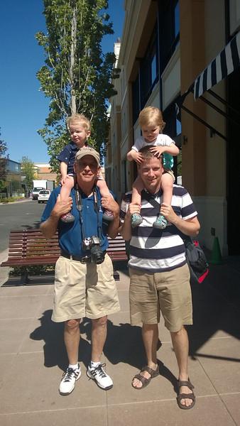 Grandma Barb & Papa Dave Visit Boise, 6-14