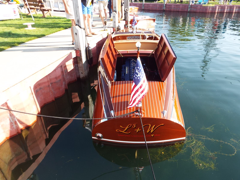Hessel boat show August 14th 2021. The boat was awarded Best Chris Craft in the show by the Chris Craft Antique Boat Club.