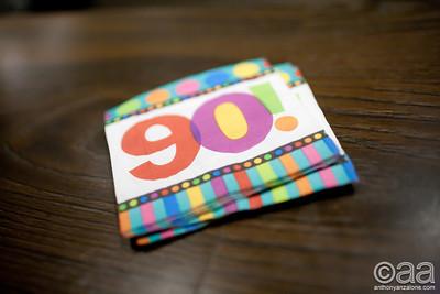 Fran's 90th Birthday