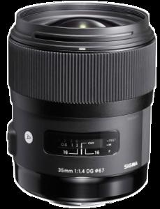 Sigma 35mm 1.4