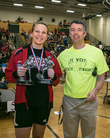 Awards - 2013 Michigan High School Power Lifting State Championships