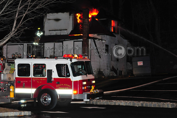 Rockaway Boro, NJ Working Fire 116 Route 46 12/15/10