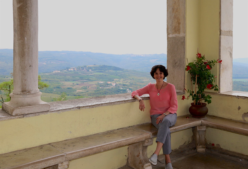 """Motovun - One of the many """"Hill Towns"""" of Istria, famous for their truffles, vineyards, olive groves and charming, picturesque villages."""