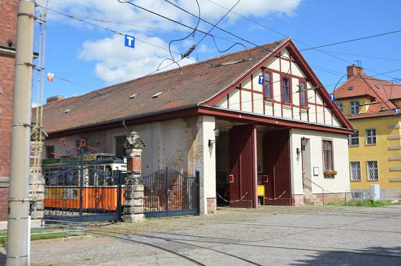 Poststraße Depot Naumburg 30 April 2018