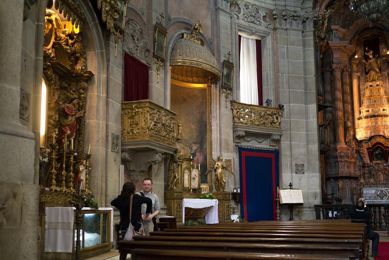 Inside Igreja dos Clérigos