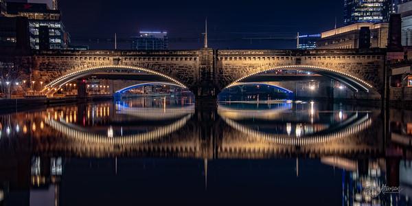 Boathouse Row & Mascara Bridge