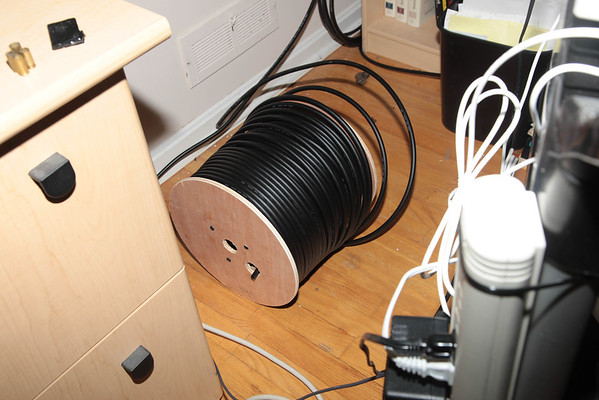 Antenna Feedline Install - Part 1