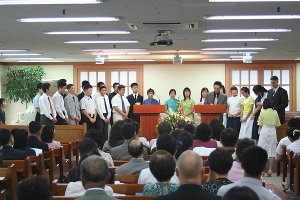 Korea 2006 Church Members