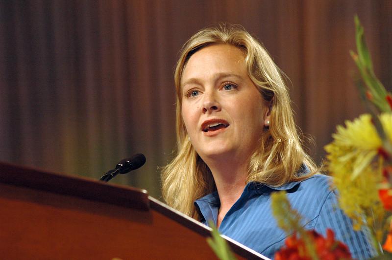 Dr. Marit Trelstad, Pacific Lutheran University, Tacoma, Wash. leads Bible study; Galatians 6:1-5.
