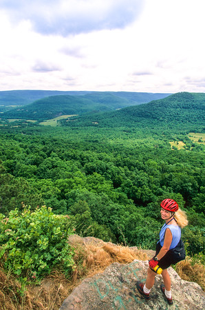 Biker & Scenics in Ouachita & Boston Mountains -- Adventure Cycling's Central Loop