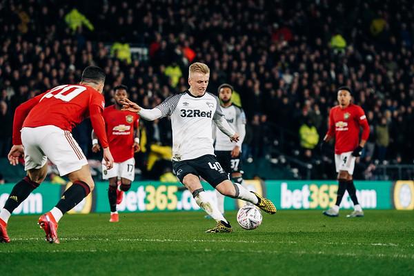 Derby County Vs Man U Em Cup 2020